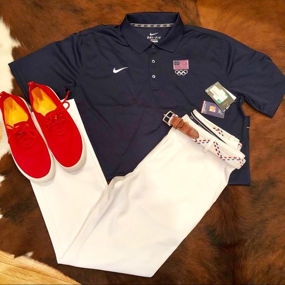 Gear up for the Olympics w  Nike Team USA Polo